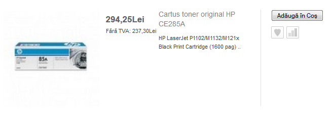 Pret HP LaseJet Pro P1102