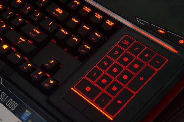 Num-Pad MSI GS80 Titan SLI