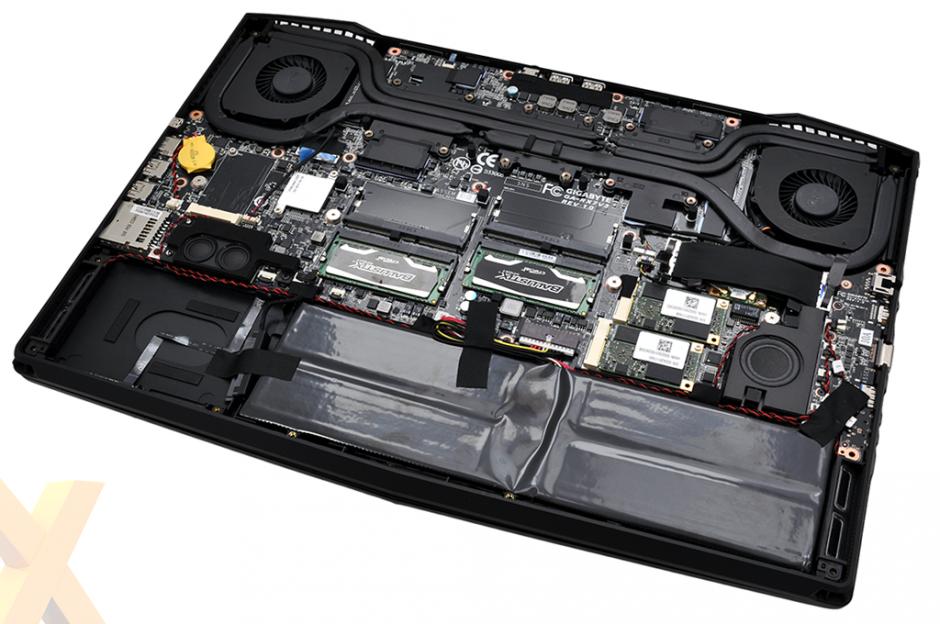 Interior Aorus X7 Pro